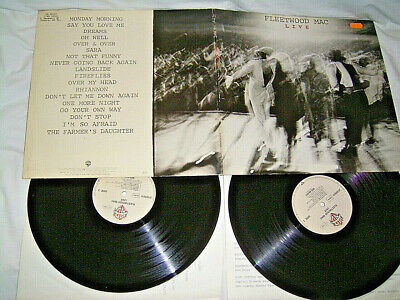 2 LP Fleetwood Mac Live - 1980 FOC OIS # cleaned