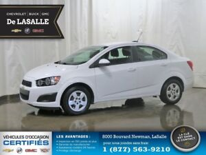 2015 Chevrolet Sonic LS Like New, Owned Once, No Stories..!