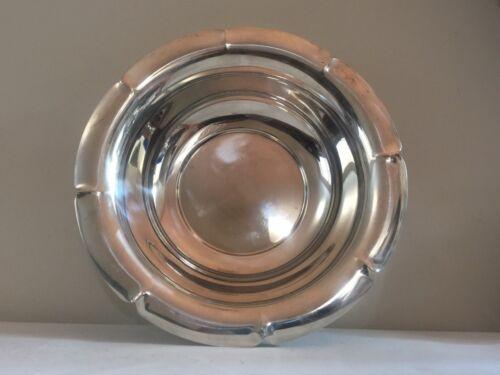 Vintage Sterling Silver Large Round Bowl 426 grams 10