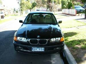 2001 BMW 3 Sedan Coburg North Moreland Area Preview