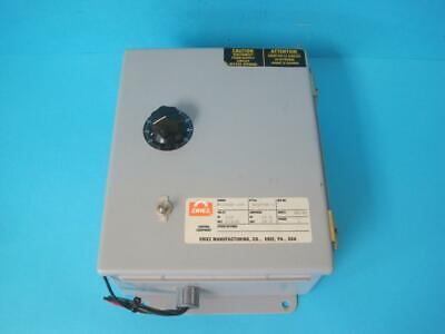 Eriez Magnetics N12ghs-115 Volt Control Panel Style 932798-1 16.5 A Works Great
