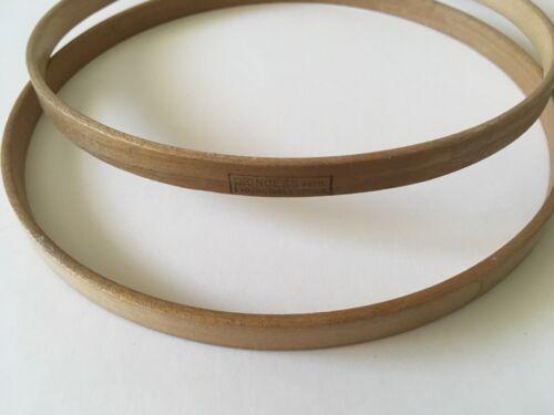 "Vintage PRINCESS 7"" Wooden Embroidery Adjustable Spring Tension Hoop  USA"