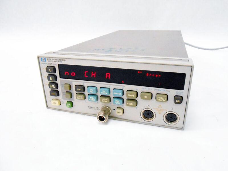 HP AGILENT KEYSIGHT 438A DUAL SENSOR POWER METER