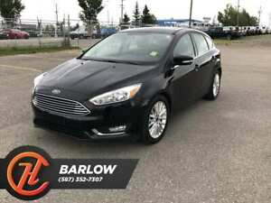 2018 Ford Focus Titanium / Back up camera / Heated Leather Seats