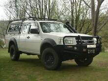 2007 Ford Ranger PJ XL 4 X 4 Space Cab 3.0 with canopy Anglers Reach Snowy River Area Preview
