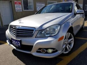 2013 Mercedes-Benz C-Class C 300-AWD-NAVIGATION-SUNROOF-LEATHER