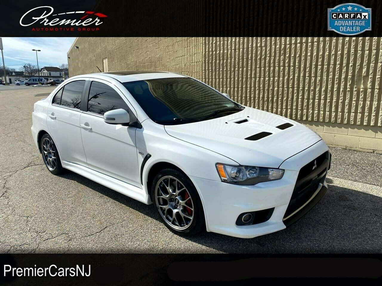 2015 Mitsubishi Lancer, White with 144523 Miles available now!