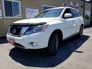2013 Nissan Pathfinder SV-4WD-7 PASS THIRD ROW SEATING-