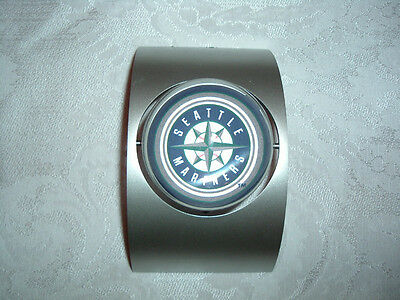 Seattle Mariners Mlb Spinning Clock