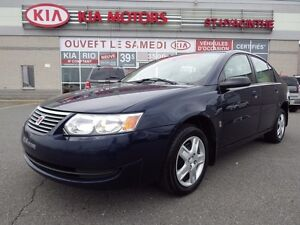 2007 Saturn Ion Sedan AUTOMATIQUE / GR ÉLECTRIQUE