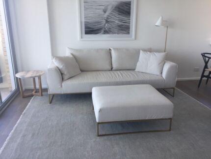Smith Made Sofa and Ottoman