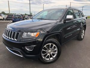 2016 Jeep Grand Cherokee LIMITED 4X4 CUIR TOIT OUVRANT CAMÉRA DE