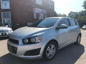 2013 Chevrolet Sonic LT/NO ACCIDENT/CERTIFIED/WARRANTY INCLUDED