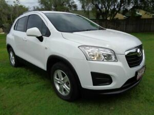 2016 Holden Trax TJ MY16 LS White 6 Speed Automatic Wagon Kippa-ring Redcliffe Area Preview