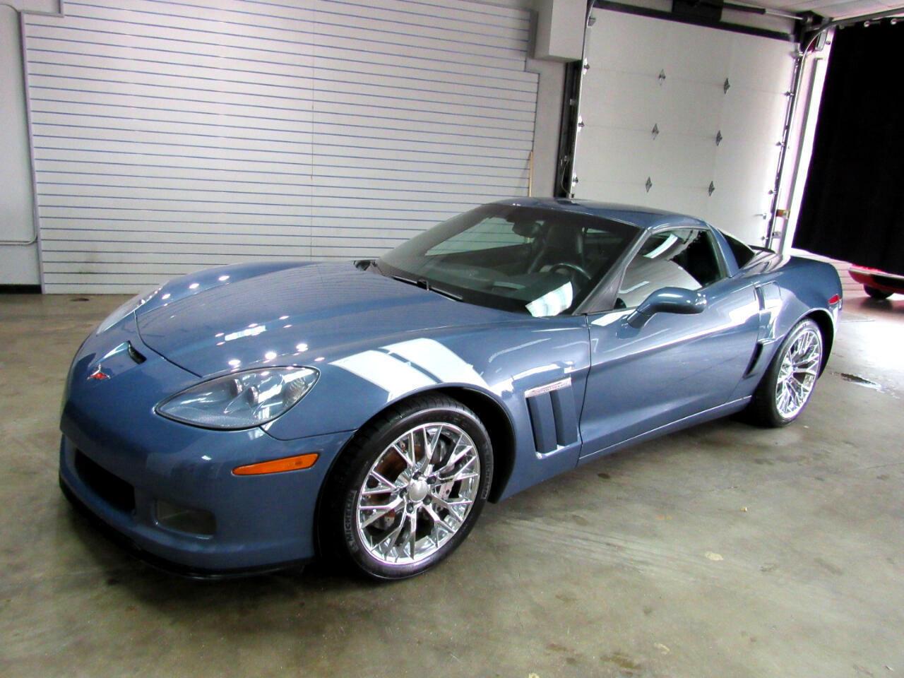 2011 Blue Chevrolet Corvette Coupe 3LT   C6 Corvette Photo 1