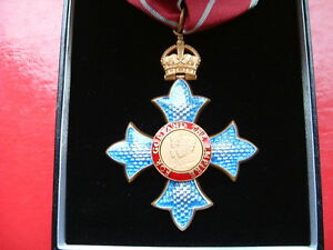Medals - The Most Excellent Order of the British Empire CBE Medal in Case Copy