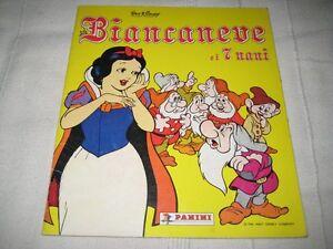 Album Panini Biancaneve e i sette nani - Italia - Album Panini Biancaneve e i sette nani - Italia