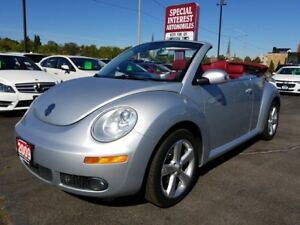 2009 Volkswagen New Beetle 2.5L Silver-Red Edition ONTARIO VE...