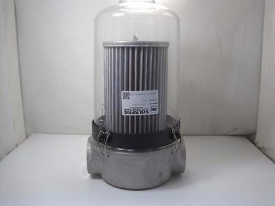 12395 Solberg St-8511-200c T Style Inlet Vacuum Filter 2 Npt Aluminum Head