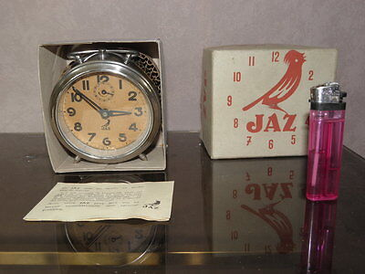 antique FRENCH JAZ bedside alarm clock jaz vintage antique art retro uhr box vtg