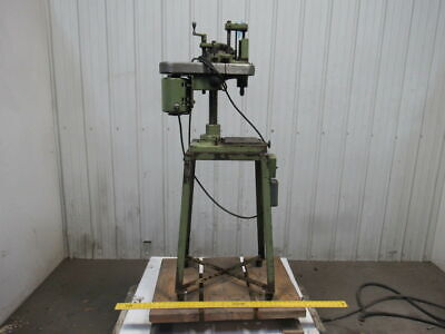 Hamilton Bench Top Micro Drill Press Wstand 2500 Rpm 0-18 Chuck 115v