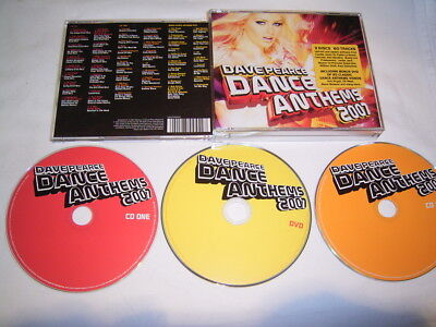 2 CD +  DVD - Dave Pearce Dance Anthems 2007 - S 11
