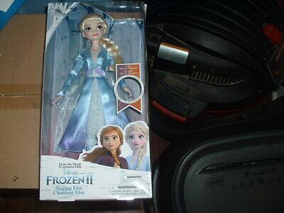 "Disney Store Singing Elsa 11"" Doll Frozen 2 Brand New"