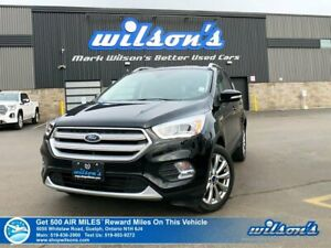 2018 Ford Escape Titanium AWD - Leather, Navigation, Sunroof, He