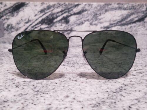 Ray-Ban Aviator originals Sunglasses RB 3026 Black Frame Classic black Lens 62mm