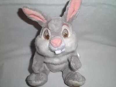 DISNEY STORE Plush THUMPER Bunny BAMBI BEAN BAG So Soft Rabbit Stuffed Animal