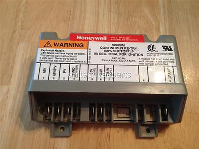 Honeywell S8600m Ignition Control Module Continuous Re-try 100 Shut-off
