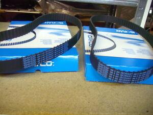 2 x Zahnriemen FERRARI 355 ( 2.7 und 5.2 ) 360 Modena 360 Spider   Timing belt