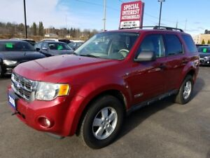 2008 Ford Escape XLT ONTARIO VEHICLE !!  LOCAL TRADE IN !!
