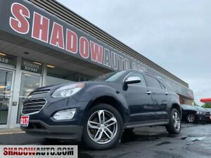 2017 Chevrolet Equinox PREMIER -AWD -V6 -NAV -MOONROOF -LEATHER