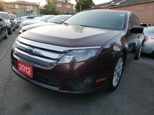 2012 Ford Fusion SE/Bluetooth/AUX/Power Seats/Roof/Alloys