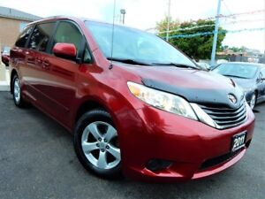 2011 Toyota Sienna LE | 8 PASS | POWER DOORS | BACK UP CAM | DVD