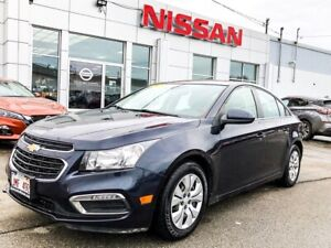2015 Chevrolet Cruze 1LT Simple yet Sporty!
