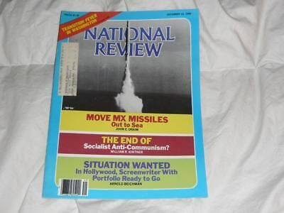 National Review Magazine   December 12 1980   Is Nuclear War Likely    Reagan