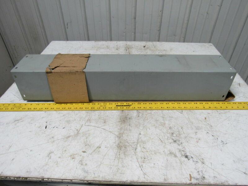 """Austin AB-6636SWG 6"""" X 6"""" X 36"""" Nema 1 Screw Cover Lay In Wireway"""