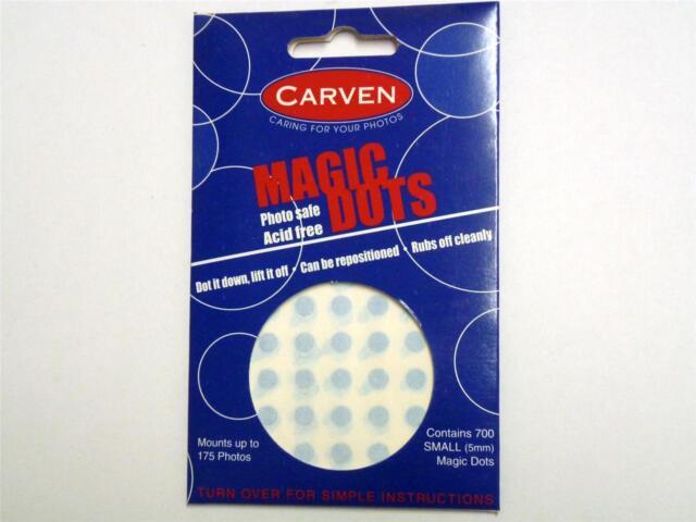 Carven Magic Dots photo safe acid free 700 dots 5mm photos posters notes 441801