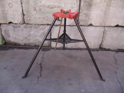 Ridgid 460 Chain Tripod Pipe Vise 18 To 6 Threader 300 700 Nice Shape 10
