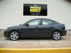 2007 Mazda 3 5 SPEED WITH LEATHER AND SUNROOF