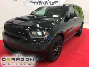2018 Dodge Durango R/T AWD CUIR ROUGE TOIT NAV TECH PACK BLACKTO