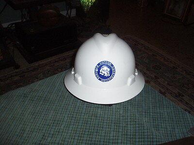 Vintage Matcon Construction Services V-gaurd Safety Hard Hat Csa Class E