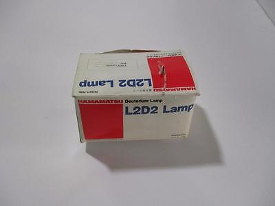 Hamamatsu L2d2 Deuterium Lamp Type L6300