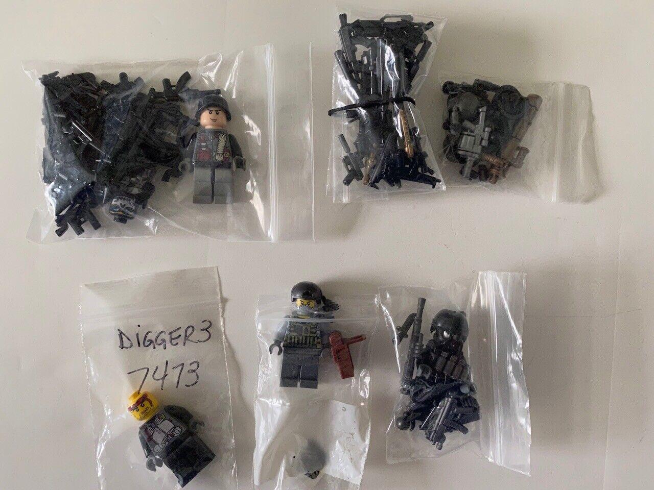 Brickarms Mini Guns & Mini Weapons Lot for Lego Mini Figures