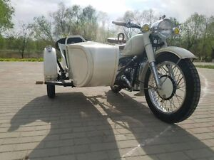Great vintage solo sidecar motorcycle for sale