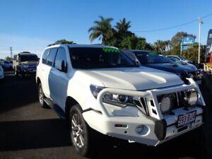2017 Toyota Landcruiser Prado GDJ150R VX White 6 Speed Sports Automatic Wagon West Ballina Ballina Area Preview