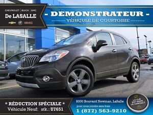 2014 Buick Encore CXL Leather AWD REBATE $$ -- COURTESY CAR --