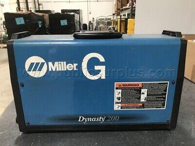 Miller Dynasty 200 Dx 907099 Tig Welder